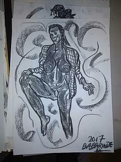 Dessins de nu/ Nude drawings