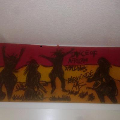 dances of African shadows(80cm-30cm)